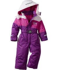 bpc bonprix collection Combinaison de ski violet manches longues enfant - bonprix