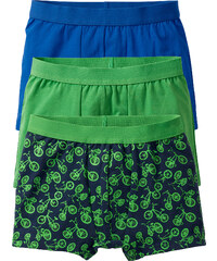 bpc bonprix collection Lot de 3 boxers vert enfant - bonprix