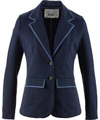 bpc bonprix collection Blazer sweat manches longues bleu femme - bonprix