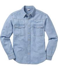 John Baner JEANSWEAR Chemise en jean bleu manches longues homme - bonprix
