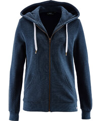 bpc bonprix collection Sweatjacke langarm in blau für Damen von bonprix