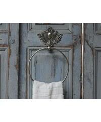 Chic Antique Držák na ručníky Chateau antique silver