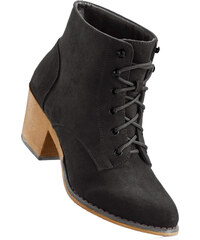bpc bonprix collection Bottines à lacets noir femme - bonprix