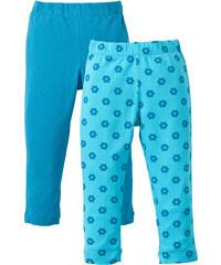 bpc bonprix collection Lot de 2 leggings, T. 80-134 bleu enfant - bonprix