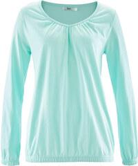 bpc bonprix collection T-shirt manches longues vert femme - bonprix