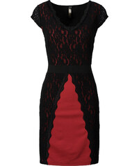 BODYFLIRT boutique Spitzenkleid/Sommerkleid in rot von bonprix