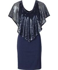 BODYFLIRT boutique Paillettenkleid/Sommerkleid in blau von bonprix