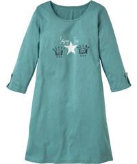 bpc bonprix collection Nachthemd 3/4 Arm in blau für Damen von bonprix