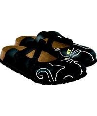 Birki´s Zdravotní obuv Birki Dorian black cats Velikost: 36