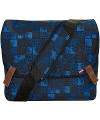 4YOU Umhängetasche mit Laptopfach, Squares Blue, »Messengerbag«