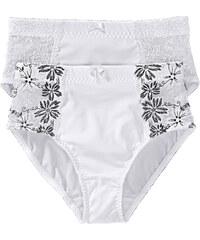 bpc selection Culotte gainante (lot de 2) blanc lingerie - bonprix