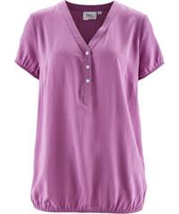 bpc bonprix collection Blouse manches courtes violet femme - bonprix