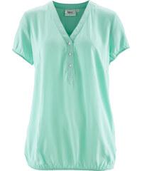 bpc bonprix collection Blouse manches courtes vert femme - bonprix