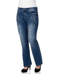 Sheego Denim Bootcut Stretch-Jeans Maila