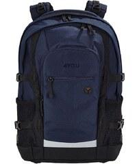 4YOU Schulrucksack mit Laptop- und Tabletfach, Marine, »Jump«