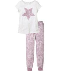 bpc bonprix collection Pyjama violet manches courtes lingerie - bonprix