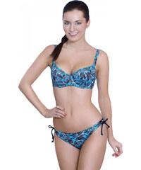 Dámské plavky Triola 82060 - tyrkysová - vrchní díl - výprodej, tyrkysová