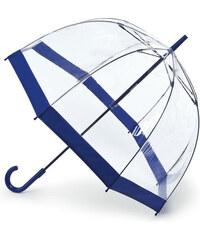 Fulton Dámský průhledný holový deštník Birdcage 1 Navy L041-7