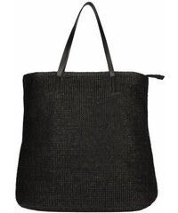 Invuu London Slaměná taška Black 15B0101-1