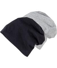 bpc bonprix collection Lot de 2 beanies en jersey noir femme - bonprix