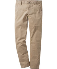 RAINBOW Pantalon Slim Fit Straight beige homme - bonprix