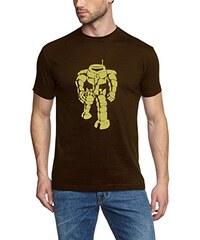 Coole-Fun-T-Shirts Herren T-Shirt Sheldon Robot Big Bang Theory!