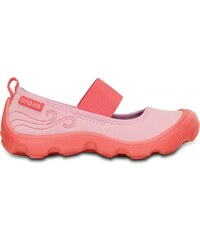 Crocs Duet Busy Day Mary Jane PS Carnation/Coral