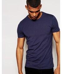 Jack & Jones - T-Shirt in regulärer Passform - Marineblau