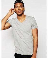 Jack & Jones - T-Shirt in regulärer Passform - Grau