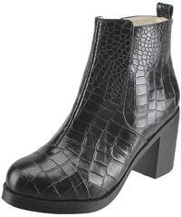 Botky z krokodýlí kůže Buffalo Bianca 414-0913