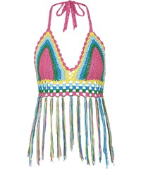 Topshop **Crochet Knitted Bralet by Glamorous
