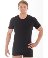 Pánské triko Brubeck SS00990 - krátký rukáv, černá