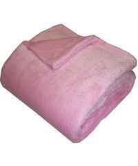 Super soft deka Dadka - růžová 150/200