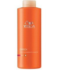 WELLA Care3 Enrich Conditioner Fine Normal hydratační balzám na suché vlasy 1000ml