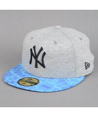 New Era Miamivibe NY melange šedá / modrá / černá