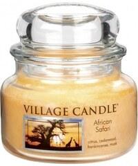 Village Candle Svíčka ve skle African Safari - malá