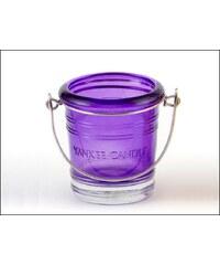 Svícen Glass Bucket fialový na votivní svíčku