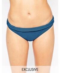 ASOS - Marilyn - Exklusive Bikinihose - Marineblau
