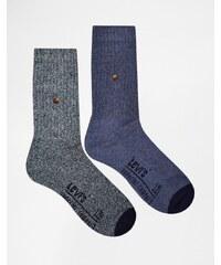 Levis Levi's - 2er Pack Socken - Blau
