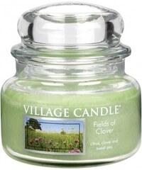 Village Candle Svíčka ve skle Fields of clover - malá