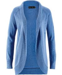 bpc selection Strickjacke langarm in blau für Damen von bonprix