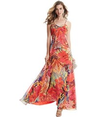 Guess by Marciano Šaty Hot House Hibiscus Maxi Dress
