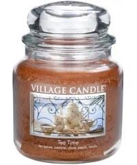 Village Candle Svíčka ve skle Tea time - střední
