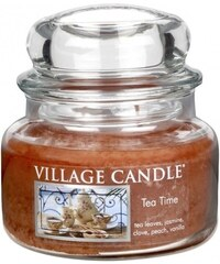 Village Candle Svíčka ve skle Tea time - malá