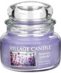 Village Candle Svíčka ve skle Rosemary Lavender - malá
