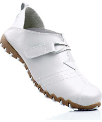 bpc selection Lederslipper in weiß von bonprix