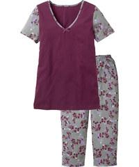 bpc selection Pyjama violet manches courtes lingerie - bonprix