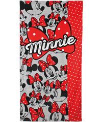 Cerda Osuška Minnie Mouse mašle bavlna 70/140 cm