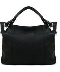 Kožená kabelka Serena 33 černá