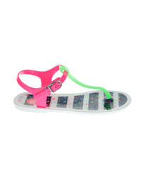 Gioseppo Bogatell green-fuchsia plážové dívčí sandály